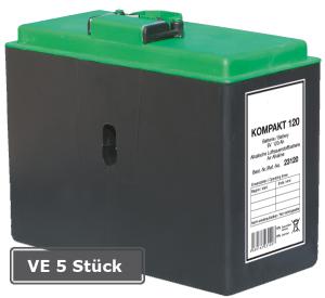 Luftsauerstoff-Batterie Kompakt, VE 5 Stück, 120, 6V-/ 120Ah (Ausführung: Luftsauerstoff-Batterie Kompakt, VE 5 Stück, 120, 6V-/ 120Ah (Art.Nr.: 18600))