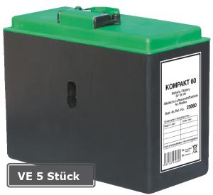 Luftsauerstoff-Batterie Kompakt, VE 5 Stück, 60, 6V-/ 60Ah (Ausführung: Luftsauerstoff-Batterie Kompakt, VE 5 Stück, 60, 6V-/ 60Ah (Art.Nr.: 18599))