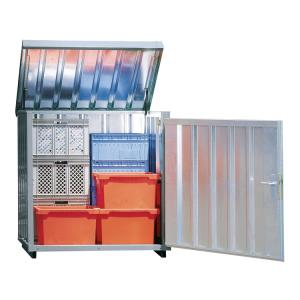 Magazinbox -STMB 2-, 1420 x 1080 x 1470 mm, mit Bodenplatte (Ausführung: Magazinbox -STMB 2-, 1420 x 1080 x 1470 mm, mit Bodenplatte (Art.Nr.: 31963))