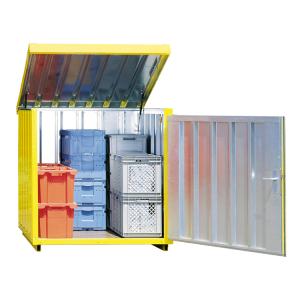 Magazinbox -STMB 4- 1420 x 1490 x 1470 mm, mit Bodenplatte (Ausführung: Magazinbox -STMB 4- 1420 x 1490 x 1470 mm, mit Bodenplatte (Art.Nr.: 31964))