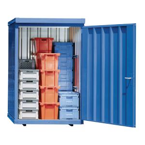 Magazinbox -STMB 8- 1420 x 1490 x 2195 mm, mit Bodenplatte (Ausführung: Magazinbox -STMB 8- 1420 x 1490 x 2195 mm, mit Bodenplatte (Art.Nr.: 31965))