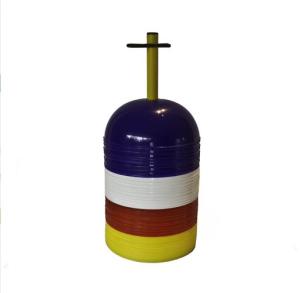 Markierungshalbkugeln -Slalom-, PVC, Höhe 85 mm, VPE 40 Stk. (Ausführung: Markierungshalbkugeln -Slalom-, PVC, Höhe 85 mm, VPE 40 Stk. (Art.Nr.: 32221))
