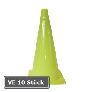 Markierungskegel -Goal-, VE 10 Stück, PVC, Höhe 370 mm, gelb (Ausführung: Markierungskegel -Goal-, VE 10 Stück, PVC, Höhe 370 mm, gelb (Art.Nr.: 32228))