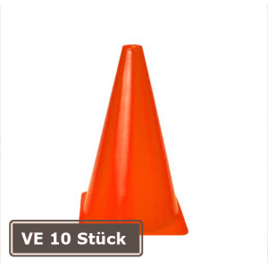 Markierungskegel -Racy-, VE 10 Stück, PVC, Höhe 230 mm, orange (Ausführung: Markierungskegel -Racy-, VE 10 Stück, PVC, Höhe 230 mm, orange (Art.Nr.: 32225))
