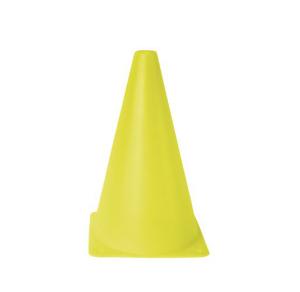Markierungskegel -Squad-, PVC, Höhe 230 mm, gelb, VPE 10 Stk. (Ausführung: Markierungskegel -Squad-, PVC, Höhe 230 mm, gelb, VPE 10 Stk. (Art.Nr.: 32226))