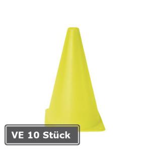 Markierungskegel -Squad-, VE 10 Stück, PVC, Höhe 230 mm, gelb (Ausführung: Markierungskegel -Squad-, VE 10 Stück, PVC, Höhe 230 mm, gelb (Art.Nr.: 32226))