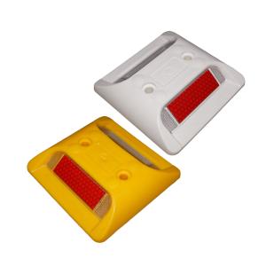 Markierungsnagel aus ABS-Kunststoff, 105 x 105 x 20 mm, viereckig (Farbe: gelb (Art.Nr.: 10006))