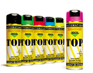 Markierungsspray -Top-, 500 ml - extrem schnelltrocknend, VPE 12 Stk. (Farbel:  <b>rot</b> / VPE 12 Stk. (Art.Nr.: rs420074))