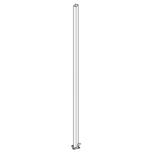 Maschinenschutzgitter Stützen -Rapid Fix- mit Klick-System, Länge 1400 oder 2200 mm (Länge: 1400 mm (Art.Nr.: 32150))