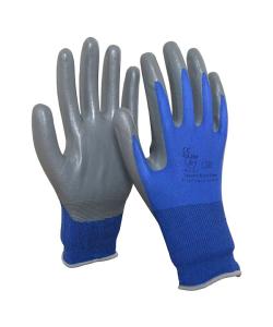 Mehrzweckhandschuh -EcoLine I-, ölbeständig, Innenhand nitrilbeschichtet, nach EN 388, CE-geprüft (Größe: 7 (Art.Nr.: 35126))