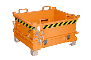 Mini-Klappbodenbehälter -Typ MSB-, mit Bodenentleerung