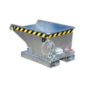 Mini-Spänebehälter -Typ Expo®-E-, Abrollsystem mit manueller Entriegelung, mit Einfahrtaschen
