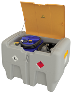 Mobile Dieseltankanlage -CEMO DT-Mobil Easy Combi- aus Polyethylen, 440 Liter (Fördermenge Pumpe: 30l/min, extrem leise (Art.Nr.: 37002))