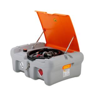 Mobile Dieseltankanlage -CEMO DT-Mobil Easy Pick-up- 210 Liter aus Polyethylen, nach ADR (Pumpenart: mit Elektropumpe CENTRI SP 30 12V, 30l/min, extrem leise,<br> <b>ohne Klappdeckel</b> (Art.Nr.: 39943))