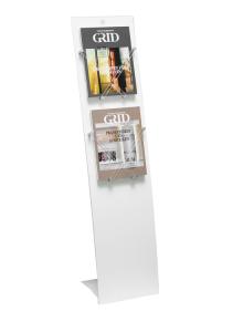 Mobiler Infoständer -VELO RESTYLE- (Ausführung: Mobiler Infoständer -VELO RESTYLE- (Art.Nr.: 36873))