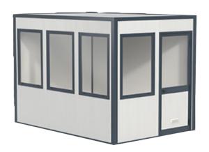 Modulares Raumsystem Komplett-Set -Master 10-, Grundfläche 8,86 m² (Ausführung: Modulares Raumsystem Komplett-Set -Master 10-, Grundfläche 8,86 m² (Art.Nr.: 36848))