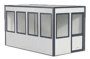 Modulares Raumsystem Komplett-Set -Master 12-, Grundfläche 11,68 m² (Ausführung: Modulares Raumsystem Komplett-Set -Master 12-, Grundfläche 11,68 m² (Art.Nr.: 36849))
