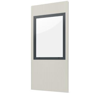 Modulares Raumsystem -Master-, Paneel mit Festverglasung (Ausführung: Modulares Raumsystem -Master-, Paneel mit Festverglasung (Art.Nr.: 36836))