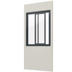 Modulares Raumsystem -Master-, Paneel mit Schiebefenster (Ausführung: Modulares Raumsystem -Master-, Paneel mit Schiebefenster (Art.Nr.: 36839))