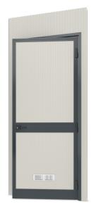 Modulares Raumsystem -Master-, Paneel mit Tür (Anschlag: DIN-rechts (Art.Nr.: 36841))