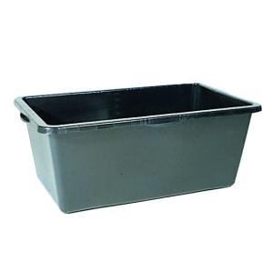 Mörtel-Kasten -Profi- 90 Liter aus PE, mit ergonomischen Griffmulden (Ausführung: Mörtel-Kasten -Profi- 90 Liter aus PE, mit ergonomischen Griffmulden (Art.Nr.: 33727))