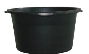 Mörtel-Kübel -Profi Line- 40 Liter aus PE, mit ergonomischen Griffmulden (Ausführung: Mörtel-Kübel -Profi Line- 40 Liter aus PE, mit ergonomischen Griffmulden (Art.Nr.: 33713))