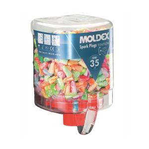 Moldex Nachfüllbehälter Einweg-Gehörschutzstöpsel -Spark Plugs-, VPE 250 o. 500 Paar (Verpackungseinheit (VPE): 250 Paar (Art.Nr.: mm7825))