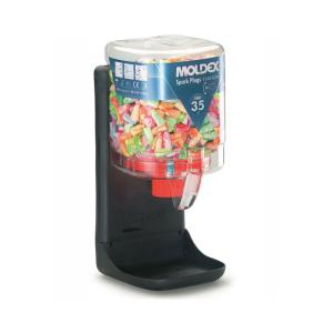 Moldex Spender für Einweg-Gehörschutzstöpsel -Spark Plugs-, 35 dB SNR, inkl. VPE 250 Paar und Wandhalterung (Ausführung: Moldex Spender für Einweg-Gehörschutzstöpsel -Spark Plugs-, 35 dB SNR, inkl. VPE 250 Paar und Wandh