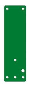 Montageplatten für Türwächter und Fensterwächter, für Brandschutz-, Vollglastüren und Fenster (Farbe: grün (Art.Nr.: 90.2180))