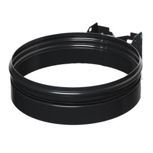 Müllsackhalter -Cubo Flavio- 70-120 Liter aus Stahl, zur Wandbefestigung (Modell/Deckelfarbe/Maße(HxT):  <b>ohne Deckel</b><br>160x550mm (Art.Nr.: 16011))