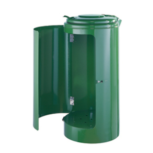 Müllsackständer -State Harrisburg- für Rastplätze, 120 Liter - freistehend oder Bodenbefestigung (Farbe: ohne Farbe (Art.Nr.: 10143-1))