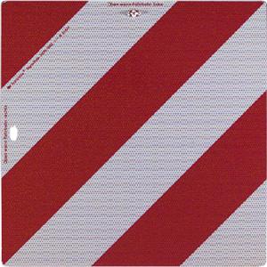 Nachtparktafeln mit Bauartgenehmigung nach DIN 67520 und DIN 6171 (Maße (BxH): 285 x 285 mm, Fahrzeug vorn, klappbar (Art.Nr.: 57.2373))