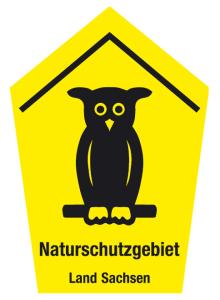Natur- und Umweltschutzschild -Naturschutzgebiet Land ...-
