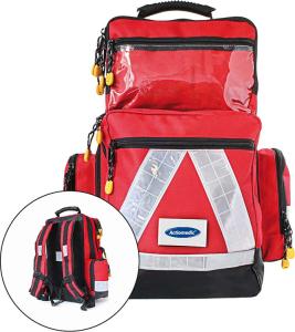 Notfallrucksack -Large-, wahlweise mit Inhalt Responder oder Medifill, 480 x 400 x 200 mm (Inhalt: ohne Inhalt (Art.Nr.: 33268))