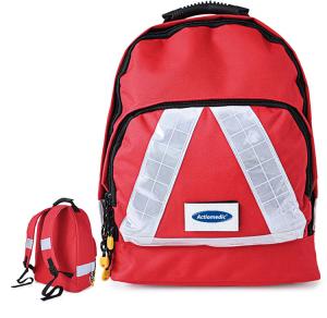 Notfallrucksack -Small-, wahlweise mit Inhalt nach DIN 13157, 450 x 380 x 150 mm (Inhalt: ohne Inhalt (Art.Nr.: 25142))