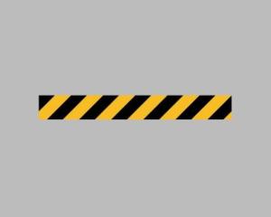 PREMARK Bodenmarkierung aus Thermoplastik -Sicherheitslinie-, gelb / schwarz (Größe (HxB)/Verpackungseinheit: 1000 x 100 mm / VE 10 Stk. (Art.Nr.: 33991))