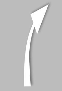 PREMARK Straßenmarkierung aus Thermoplastik - Vorankündigungspfeil Rheinland / Pfalz, VPE 2 Stk. (Ausführung: PREMARK Straßenmarkierung aus Thermoplastik - Vorankündigungspfeil Rheinland/Pfalz, VPE 2 Stk. (Art.Nr.: 12222))