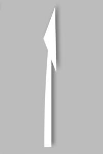 PREMARK Straßenmarkierung aus Thermoplastik - Vorankündigungspfeile, VPE 2 Stk. (Modell/Menge: rechtsweisend / VPE 2 Stk. (Art.Nr.: 12223))
