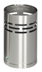 Papierkorb -Cubo Chico- 14 Liter aus Edelstahl (Ausführung: Papierkorb -Cubo Chico- 14 Liter aus Edelstahl (Art.Nr.: 15912))