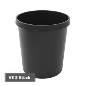 Papierkorb -P-Bins 25-, VE 5 Stück, 18 Liter aus Kunststoff (Farbe/Verpackungseinheit:  <b>rot</b>/VE 5 Stk. (Art.Nr.: 17510))
