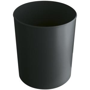 Papierkorb -P-Bins 31- 13 oder 20 Liter aus Kunststoff, feuerhemmend (Volumen/Maße (Ø x Höhe)/Farbe:  <b>13 Liter</b>/240x300mm<br>grau (Art.Nr.: 17526))