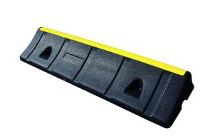 Parkhilfe / Radstop -Heavy Duty- aus Gummi, Länge 1000 mm, Höhe 150 mm, schwarz / gelb (Ausführung: Parkhilfe/Radstop -Heavy Duty- aus Gummi, Länge 1000 mm, Höhe 150 mm, schwarz/gelb (Art.Nr.: 35739))
