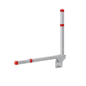 Parkplatzsperre -Acero Doppelarm- 70x70 mm aus Aluminium, zur Wandmontage (Ausführung: Parkplatzsperre -Acero Doppelarm- 70x70 mm aus Aluminium, zur Wandmontage (Art.Nr.: 32904))