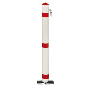 Parkplatzsperre -Acero- selbstaufrichtend Ø 76 mm aus Aluminium