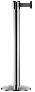 Personenleitsystem -Beltrac Modern- aus Stahl o. Edelstahl, Gurtlänge 2,3 m, mobil, versch. Faben