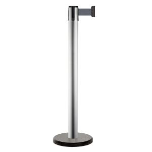 Personenleitsystem -Beltrac Pure- aus Stahl, Gurtlänge 2 m, mobil