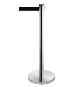 Personenleitsystem -P-Line Niro- aus Edelstahl, Gurtlänge 2,3 m