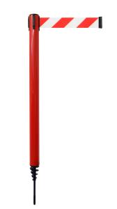 Personenleitsystem -P-Line Outside- aus Kunststoff, mit Erdspieß, versch. Farben