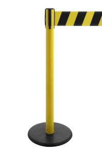 Personenleitsystem -P-Line Premium- aus Kunststoff, Gurtlänge 3,8 m, extrabreiter Gurt 100 mm
