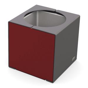 Pflanzbehälter -Kube- aus Stahl, ein- oder zweifarbig beschichtet